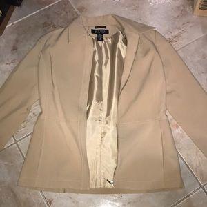 New York & Company zippered jacket size 6